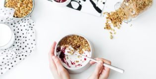 Płatki owsiane na mleko podczas diety